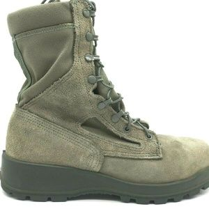 Wellco Vibram Air Force Military Combat Boots 9.5R